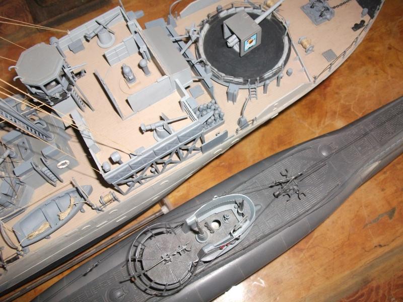 corvette - Corvette et U Boot   1/72 Revell Dscf0825