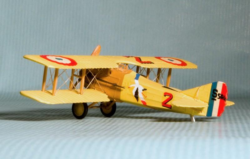 """[Airfix] SPAD VII """"Vieux Charles"""" 1/72e Airfix10"""