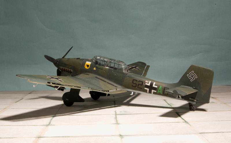 Ju 87B Stuka Heller-Airfix Heller20