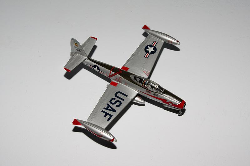 F-84 Thunderjet Heller55