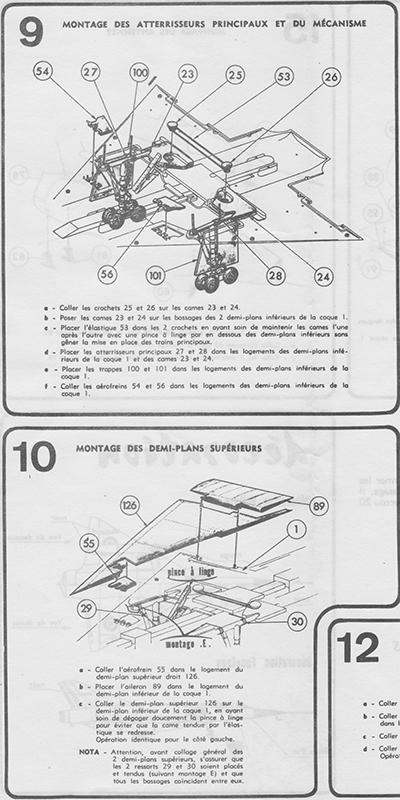DASSAULT MIRAGE IV-01 1/50ème Réf L 830 Notice Mirage16