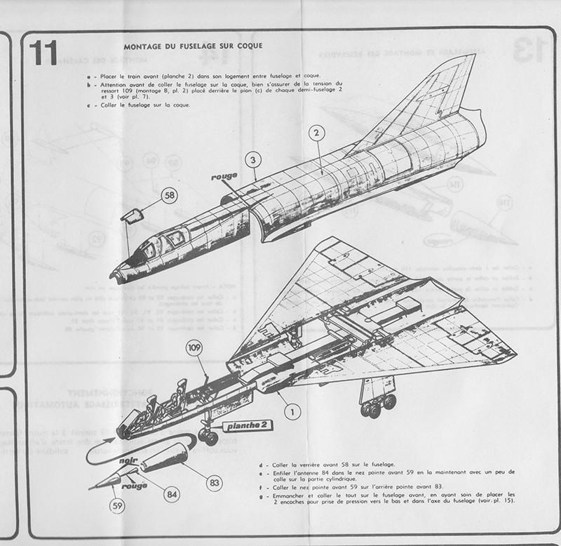 DASSAULT MIRAGE IV-01 1/50ème Réf L 830 Notice Mirage17