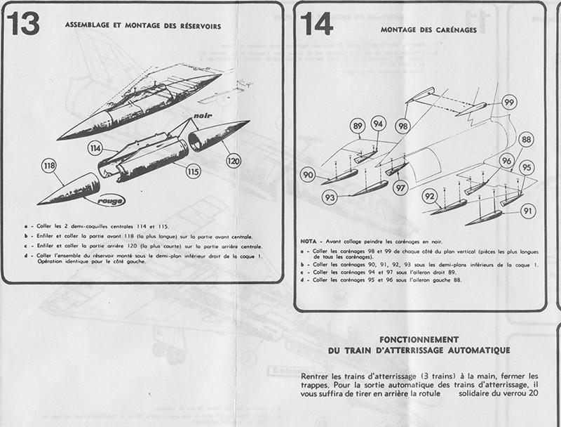 DASSAULT MIRAGE IV-01 1/50ème Réf L 830 Notice Mirage19