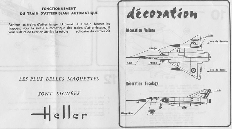 DASSAULT MIRAGE IV-01 1/50ème Réf L 830 Notice Mirage21