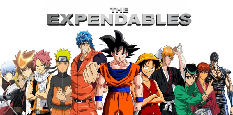 The Anime/ Manga Expendables VS The Avengers Anime_11