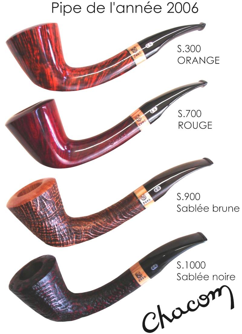 "Anciennes collections ""Pipe de l'Année"" Chacom Pa-20017"