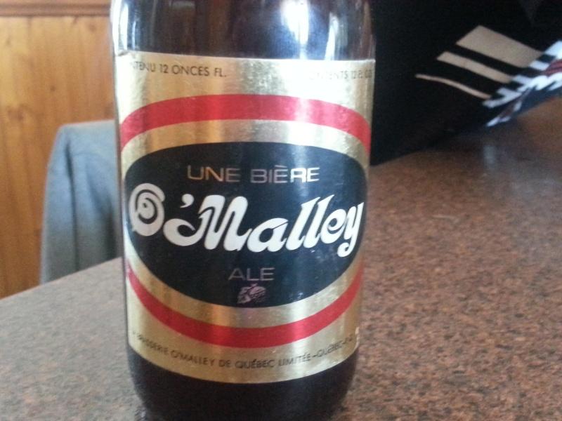 Bouteille de biere ; Dow : O'malley : O'keefe : Boswell 20150412
