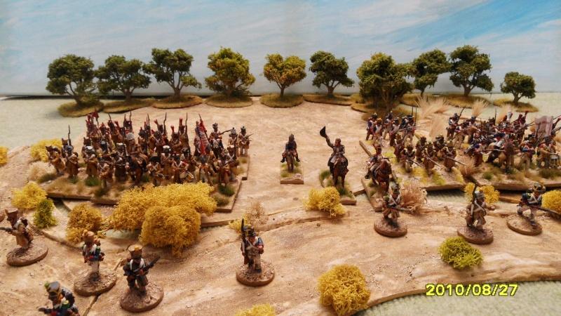 La règle de la NBS et le problème du combat napoléonien colonne d'attaque contre ligne anglaise perchée sur colline Sam_1828