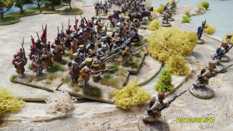La règle de la NBS et le problème du combat napoléonien colonne d'attaque contre ligne anglaise perchée sur colline Sam_1829