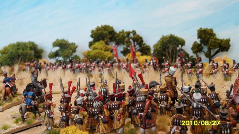 La règle de la NBS et le problème du combat napoléonien colonne d'attaque contre ligne anglaise perchée sur colline Sam_1915