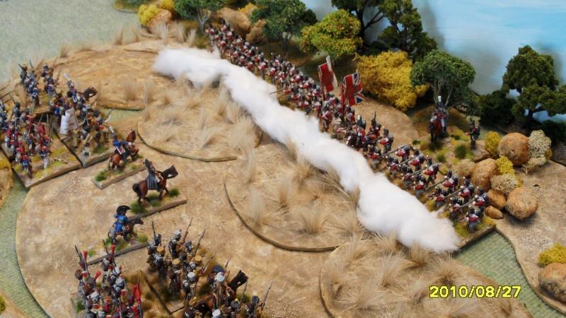 La règle de la NBS et le problème du combat napoléonien colonne d'attaque contre ligne anglaise perchée sur colline Sam_1916