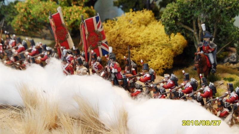 La règle de la NBS et le problème du combat napoléonien colonne d'attaque contre ligne anglaise perchée sur colline Sam_1917