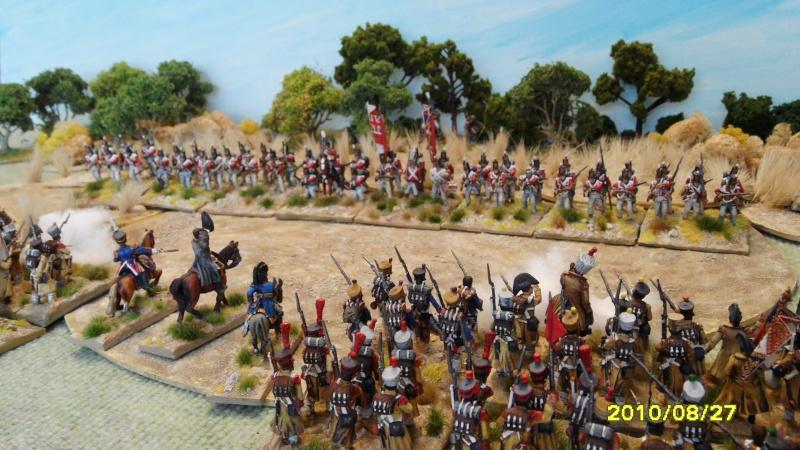 La règle de la NBS et le problème du combat napoléonien colonne d'attaque contre ligne anglaise perchée sur colline Sam_1919
