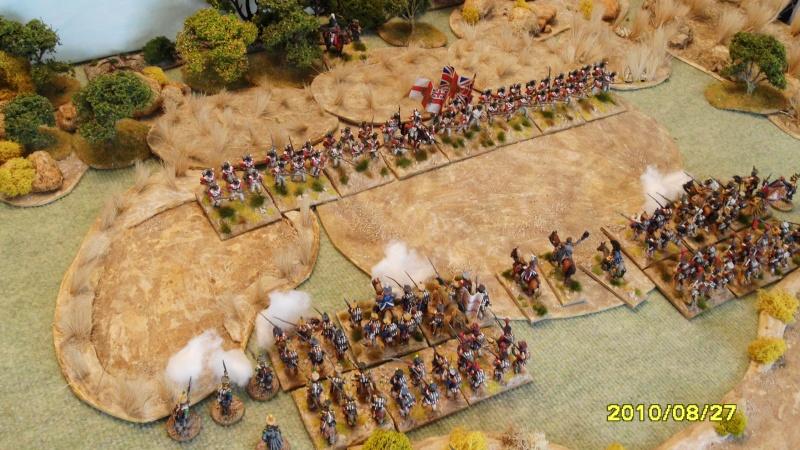 La règle de la NBS et le problème du combat napoléonien colonne d'attaque contre ligne anglaise perchée sur colline Sam_1921
