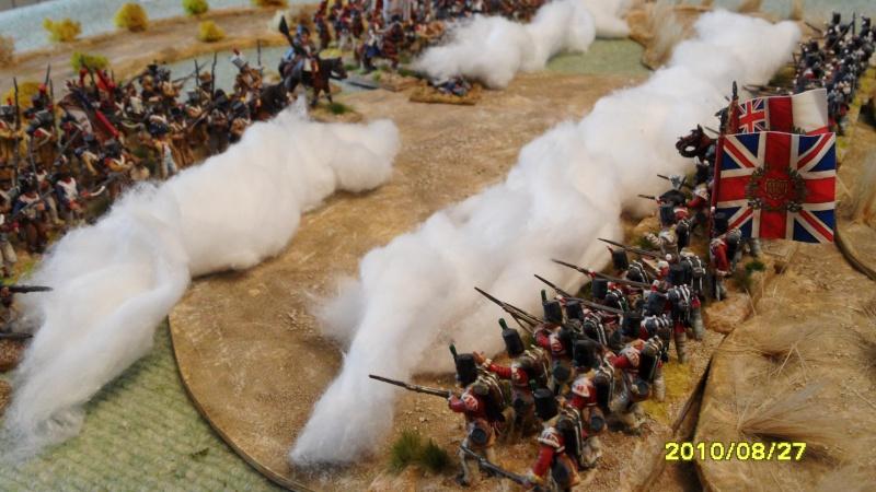 La règle de la NBS et le problème du combat napoléonien colonne d'attaque contre ligne anglaise perchée sur colline Sam_1925