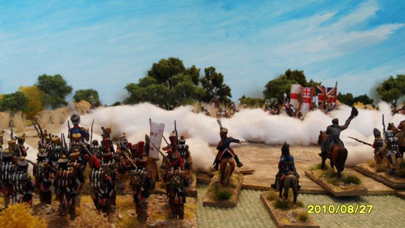 La règle de la NBS et le problème du combat napoléonien colonne d'attaque contre ligne anglaise perchée sur colline Sam_1926