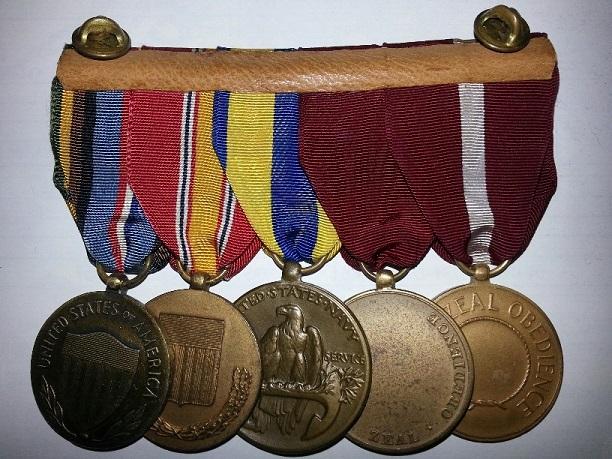 Coast Guard Medal Bars and Groups 20131111