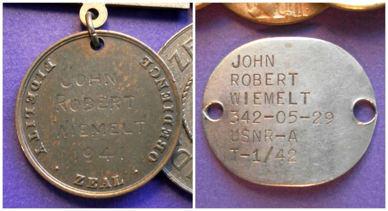 Coast Guard Medal Bars and Groups _57_110