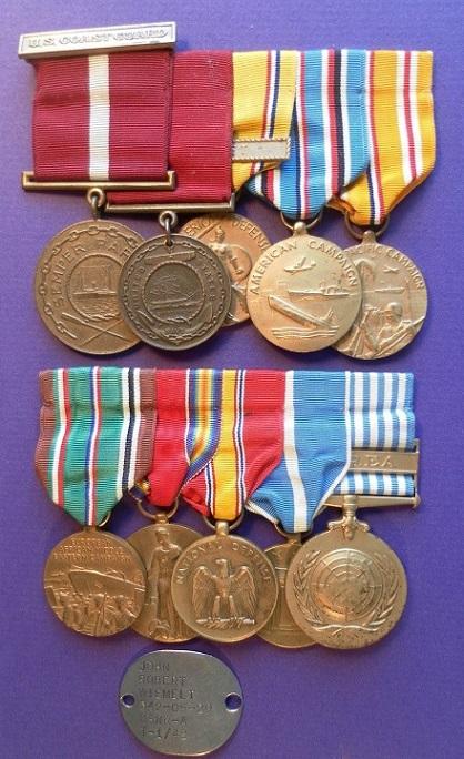 Coast Guard Medal Bars and Groups _57_210