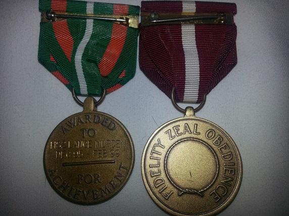 Coast Guard Medal Bars and Groups Cgam210