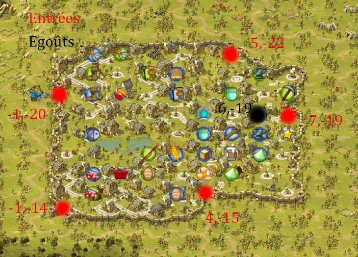 Les entrées Villes, Zones  Astrub10