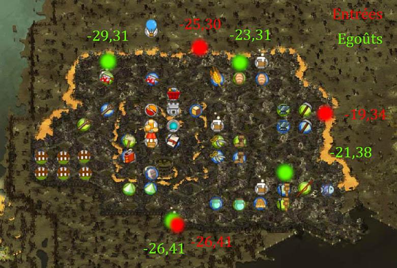 Les entrées Villes, Zones  Brak10