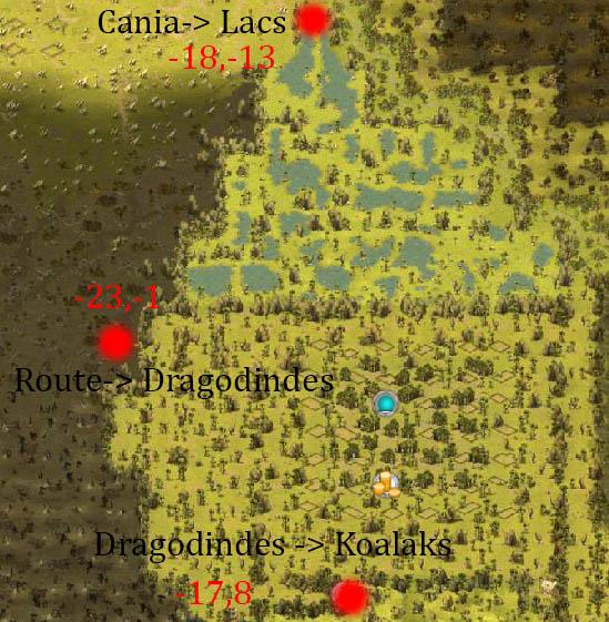 Les entrées Villes, Zones  Lacs-e10