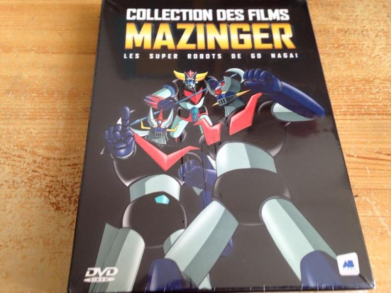 COLLECTION DES FILMS MAZINGER 11175010