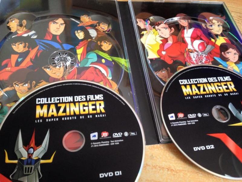COLLECTION DES FILMS MAZINGER 11188310