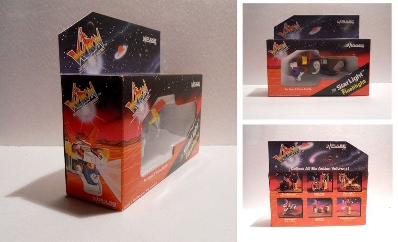 Volltron - Starlight - mini Flashlight- Impulse 1985 Voltro11