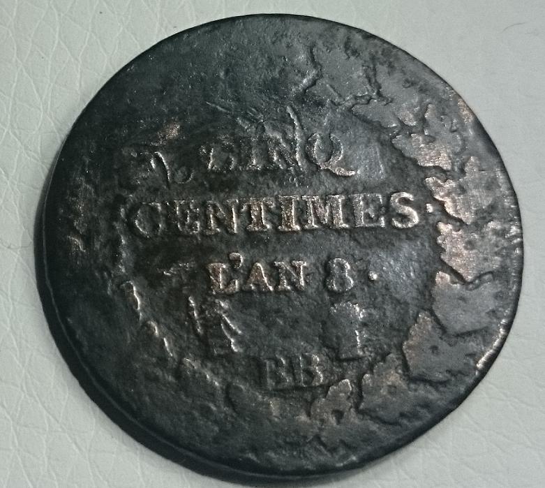 Cinq centimes DUPRE R_5dup10
