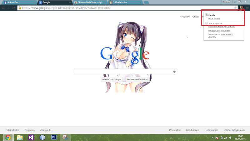 Doodle Hestia para Google [Google Chrome] Captur20