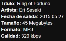 Plastic Memories OP Single – Ring of Fortune Info11