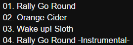 Nisekoi 2 OP Single – Rally Go Round Track12
