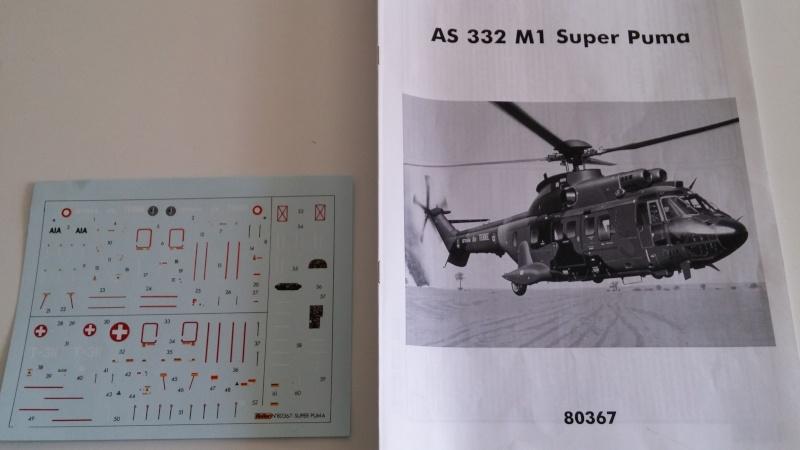 [HELLER] AS332 M1 SUPER PUMA 1/72 20150413