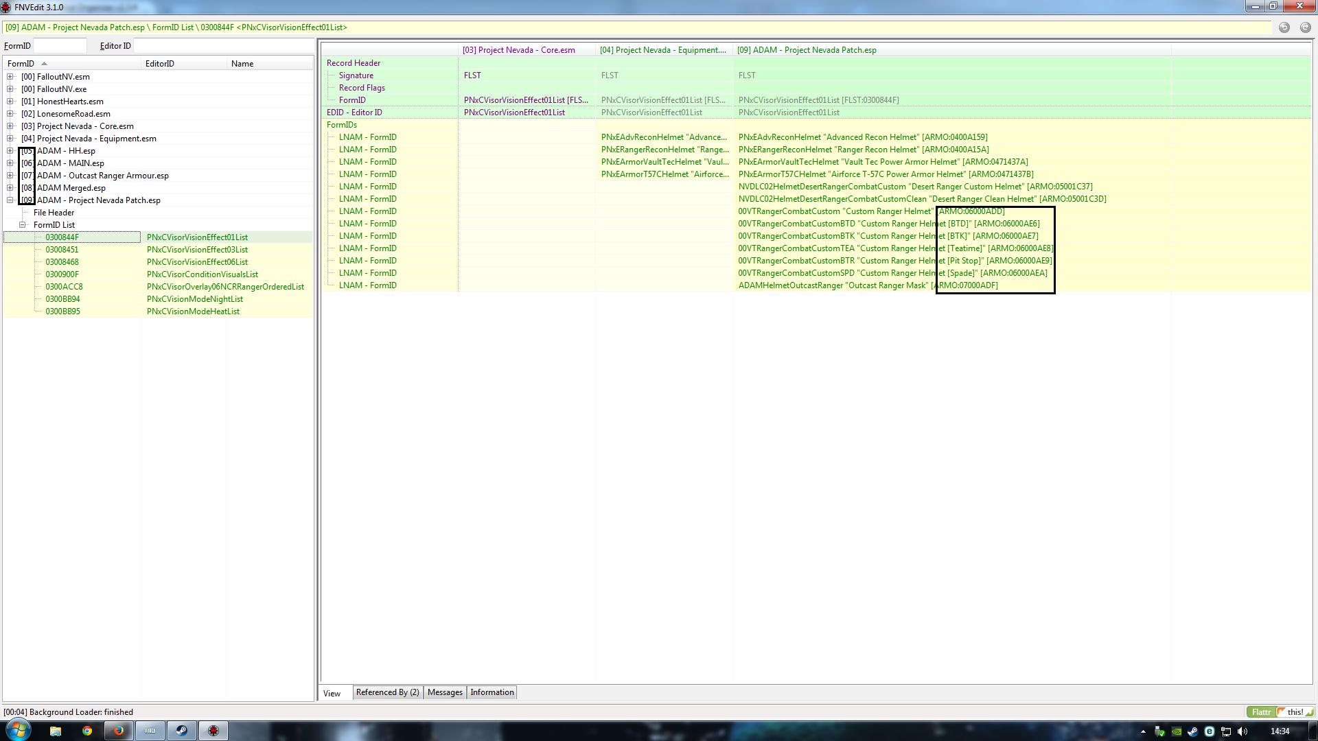 Merging Mods and deleting masters Tttt10