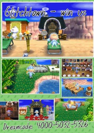 Animal Crossing New Leaf - Glitchstädte Photog12