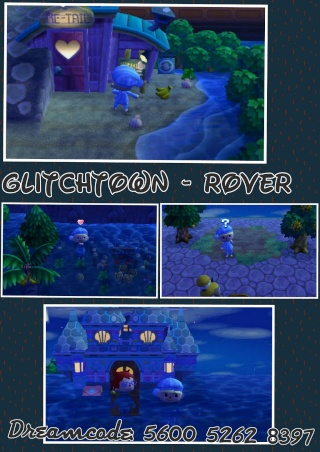 Animal Crossing New Leaf - Glitchstädte Photog13