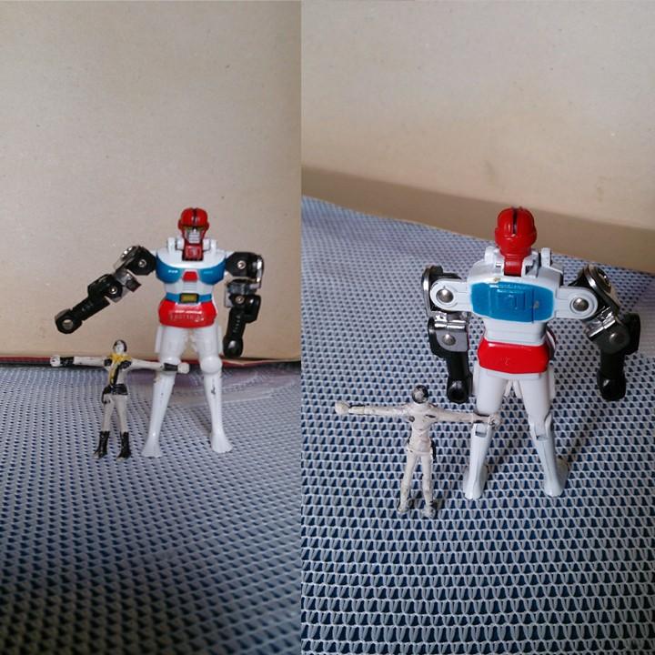 GORDIAN ROBOT VINTAGE!! Gordia13