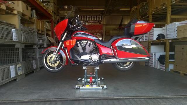 Lève moto pour Victory CCT (XCT) Kern-s10