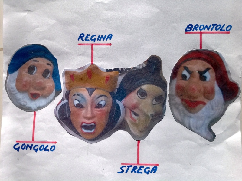 Cerco maschere Sarti serie Biancaneve e sette nani Image24