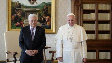El Vaticano reconoce oficialmente al Estado Palestino C_data13