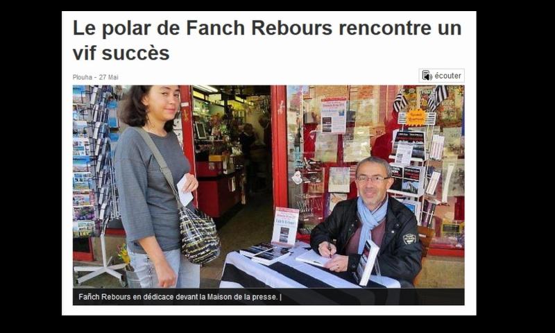 Le polar de Fanch Rebours rencontre un vif succès - Plouha  8611