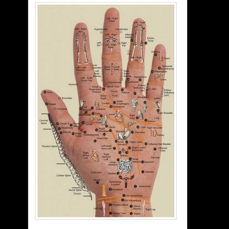Appuyez sur les points de votre main pour apaiser vos douleurs A11
