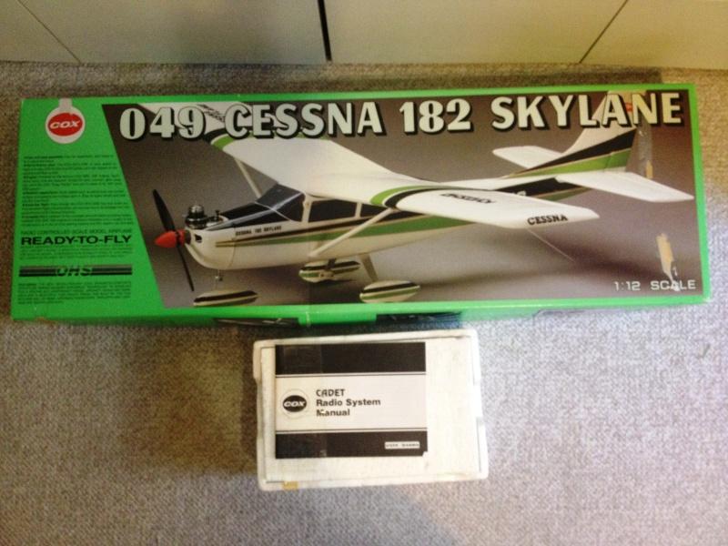 Cox New QRC .049 Cessna 182 Skylane Cessna10