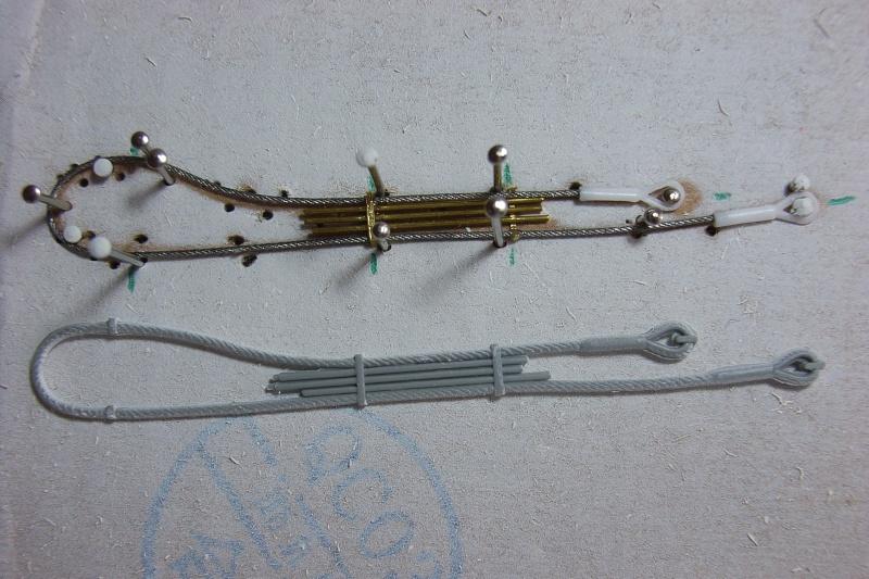 Mise en forme d'un cable de remorquage selon un modèle prédéfini. Rimg0036