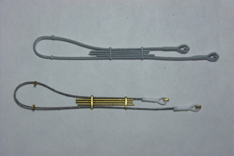 Mise en forme d'un cable de remorquage selon un modèle prédéfini. Rimg0037