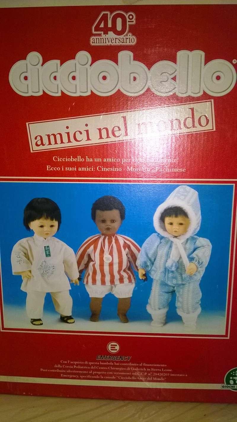 FANTASTIO E RARO CICCIOBELLO AMICI NEL MONDO 40° ANNIVERSARIO Wp_20111