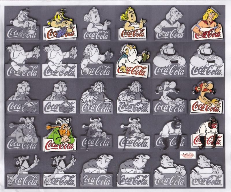 La Collection Asterix de Nacktmull Pins111
