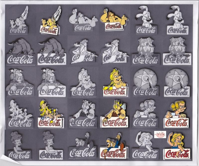 La Collection Asterix de Nacktmull Pins3-10
